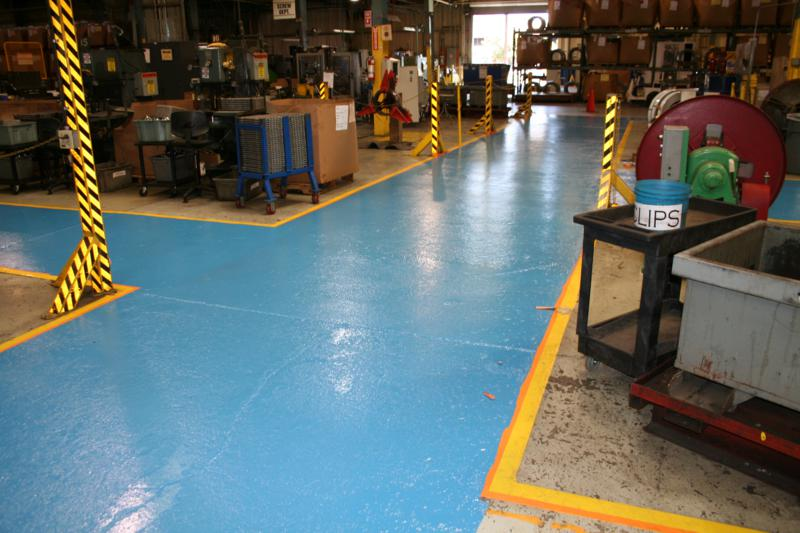 WAREHOUSE FLOOR MARKINGS